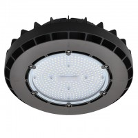 200W LED Round Pendant High Bay Light Fixture, UL-Listed & DLC-Qualified, Daylight 5000K