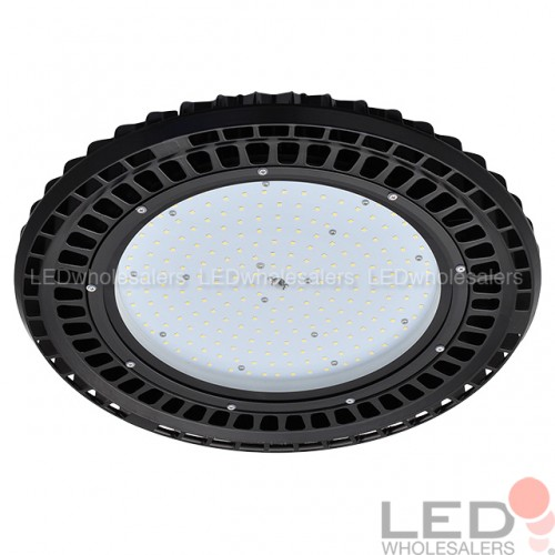 150W/200W LED Round Pendant UFO High Bay Light Fixture, UL
