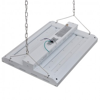 165W Dimmable LED Linear High Bay Light Fixture, UL-Listed & DLC-Qualified, Daylight 5000K