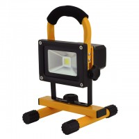 12-Watt Rechargeable Portable LED Work Light for Workshop Garage Jobsite Camping