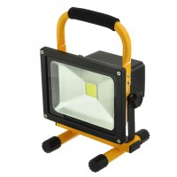 20-Watt Rechargeable Portable LED Work Light for Workshop Garage Jobsite Camping