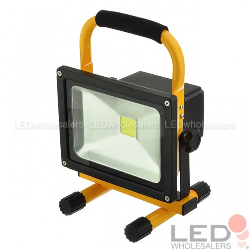 20W Rechargeable Portable LED Work Light For Workshop