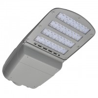 240W LED Dimmable Street Light in Grey Finish, UL-Listed and DLC-Qualified, Daylight 5000K