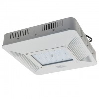 AOK 150-Watt Surface-Mount LED Canopy Light Fixture for Gas Stations, Daylight 5000K
