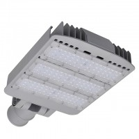 Series-D 120W LED Street Light with Swivel Mounting Arm, UL-Listed, Daylight 5500K