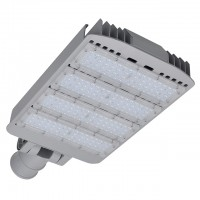Series-D 200W LED Street Light with Swivel Mounting Arm, UL-Listed, Daylight 5500K