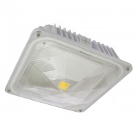 35-Watt Outdoor LED Canopy Ceiling Light Fixture UL-Listed, 100-240/277VAC