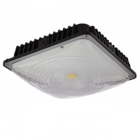 70-Watt UL-Listed & DLC-Qualified LED Canopy Ceiling Light Fixture