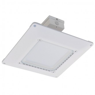 Ultra-Thin Dimmable Recessed 150-Watt LED UL-Listed Canopy Light Fixture for Gas Stations, Daylight 5000K