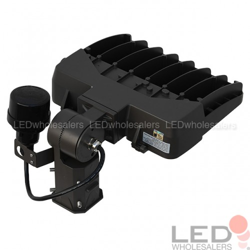 105W LED Low Profile Dimmable Parking Lot Shoebox Area