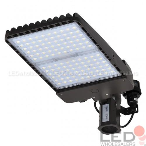 300W LED Low Profile Parking Lot Shoebox Area Light UL