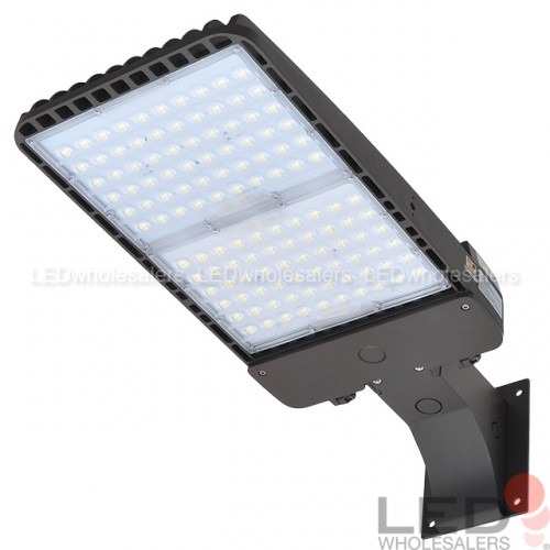 Spacing Of Parking Lot Lights: 300W LED Low Profile Parking Lot Shoebox Area Light UL