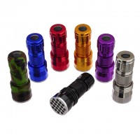 21-LED Flashlight Rear Push Button 3xAAA (Final Sale)