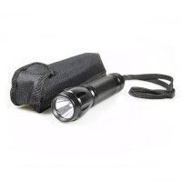 Compact Tactical 3 watt Cree flashlight running on 3 AAA batteries