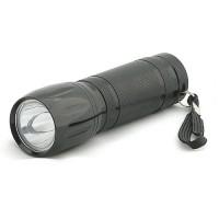 1-Watt 35-Lumen LED Flashlight with Landyard 3x AAA