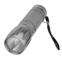 1-Watt 35-Lumen LED Flashlight with Landyard 3x AAA