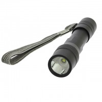 Mini Pocket Keychain Size 1x AAA Bright LED Flashlight with Lanyard