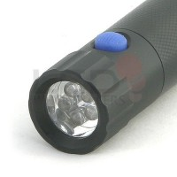 Dual-Head 3-Watt CREE & 5 Ultra Violet LED 3x AAA Compact Flashlight