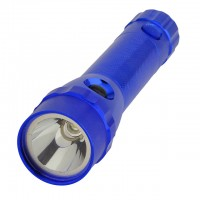 Dual Head 3-Watt Cree and 5 Red LED 3xAAA Flashlight