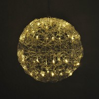 12-Inch Diameter Round Light Ball with 50 LEDs